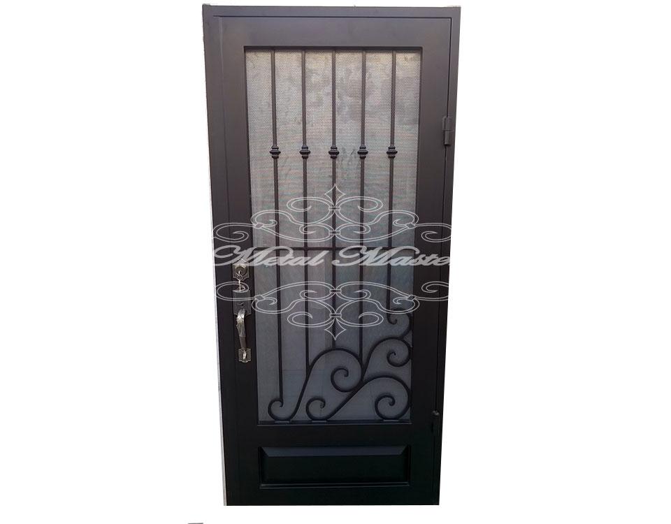 Puertas forja metal master for Fotos de puertas de metal