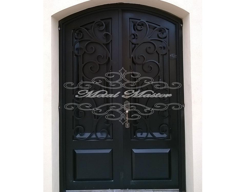 Puertas forja metal master for Puertas correderas de forja